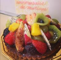 誕生日や記念日にはPatisserie Clair de luneのケーキ♪