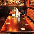 一部ソファーシートの4~6(10)名様用テーブル席