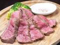 料理メニュー写真牛もも肉のグリル