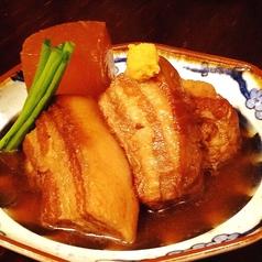 料理メニュー写真豚の角煮大根