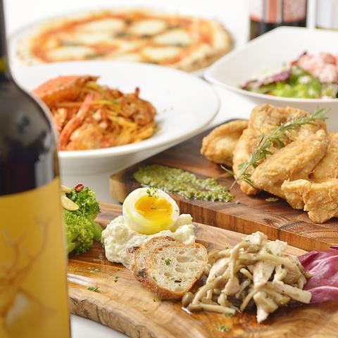 広瀬通駅近イタリアン♪北海道素材を活かした料理が人気!