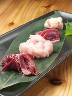 【数量限定】宮崎地頭鶏の刺身