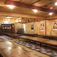 我楽多文庫本郷店【大宴会場】完備。歓迎会にピッタリ