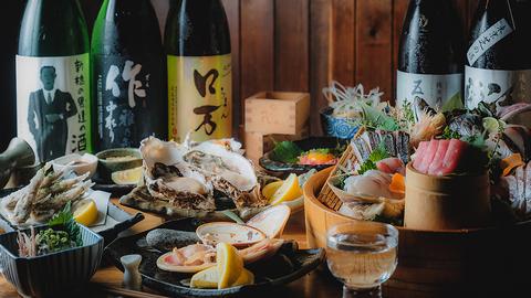 魚と日本酒 魚バカ一代 新橋本店