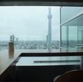 本社ビル22階から絶景を眺めながらの立食ブュッフェはいかがでしょうか?※一般予約は承っておりませんのでご了承下さい。