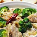 料理メニュー写真越乃鶏の贅沢アヒージョ