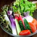 料理メニュー写真産地直送 地野菜盛