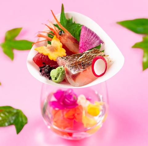 【5月/鮑の陶板焼き+季節の口取り八寸と拘りのお出汁を愉しむ】会席「清水」