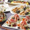 当店は産地直送の新鮮&旬の食材をメインに、鮮・焼・煮・揚と様々な調理法で仕上げた季節の味覚を楽しめる海鮮・和食料理を揃えております。会食から宴会まで様々なシーンにオススメの、飲み放題付宴会コースを各種ご用意しております。非常に相性の良い日本酒と合わせて、四季折々の和食をお楽しみください。