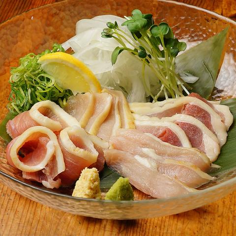 【地鶏堪能】シャポーン鶏など全7品2H《飲放》⇒4500円