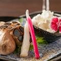 料理メニュー写真京丹後フルーツガーリックとクリームチーズ