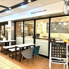Muffin&Bowls cafe CUPSの写真