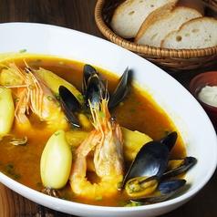 料理メニュー写真「当店名物」伊勢海老のお出汁で作るブイヤベース