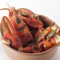 料理メニュー写真オマールエビのオーブン焼き ~グラタン仕立て~