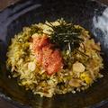 料理メニュー写真明太子と高菜のガーリック焼き飯