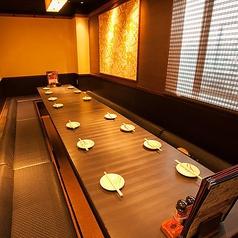 《ご宴会のご予約受付中》最大40名様迄対応可能の個室も完備しているので、ご宴会の利用にもうってつけ!プレモル中ジョッキを219円で提供している格安居酒屋で楽しいひと時を♪