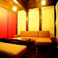 ■京町屋の蔵のソファ席個室■