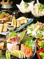 ご宴会には90分[飲放]付きコース3500円から。