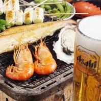 海老、牡蠣、各種お刺身…なんでも旨いっ!