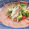 料理メニュー写真お魚カルパッチョ