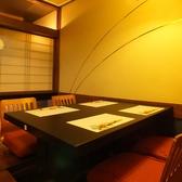 4名でのご会食にお勧めのお席。結納等、特別なお食事の際にどうぞ。