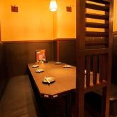 《様々なタイプのお席あります》店内にはテーブル席・掘りごたつ・個室等を完備しています。お客様の様々なニーズに対応致しますので、中野での各種宴会に是非ご利用ください。