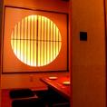 隠れ家的な雰囲気の個室。