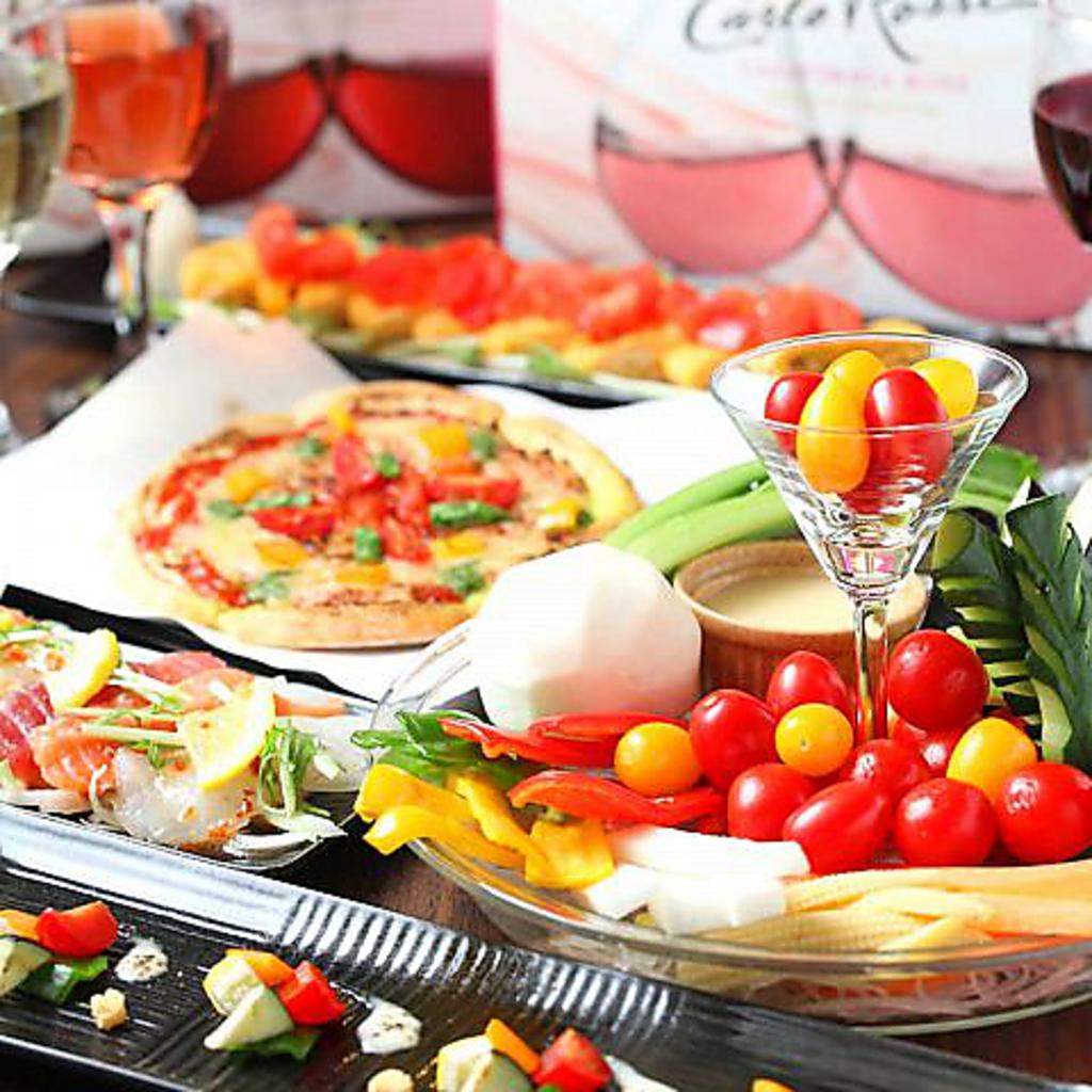 体に優しいダイニング♪野菜不足のあなたに嬉しいお料理をご用意しております!!