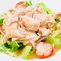料理メニュー写真豚しゃぶゴマサラダ