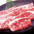 料理メニュー写真黒毛和牛カルビ