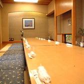 30名様までOKの大型個室は会社宴会、家族でのお食事会、法事など多岐にわたってご利用いただけます。