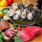 産地直送の新鮮な生牡蠣★最高A5ランクの宮崎★愛知県豊橋産のあいち鴨が味わえるお店♪♪