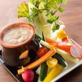 料理メニュー写真■彩り野菜のバーニャカウダ