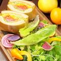 料理メニュー写真スプラウトサンドイッチ