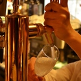 珍しい樽スパークリング!なんとサーバーから注がれるのはビールではなくスパークリングワインなんです!