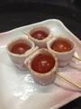 料理メニュー写真トマトベーコン巻き