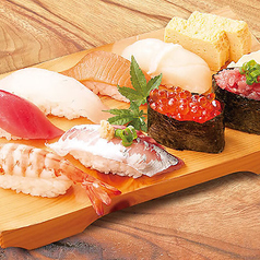 寿司盛り合わせ 8貫・貝汁付