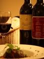 料理や好みに合わせてワインもご用意。