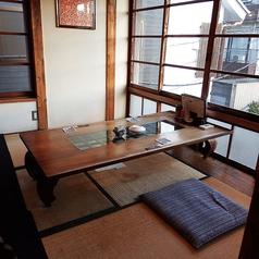 2階【朝顔の間】:6名様のお座敷席です。