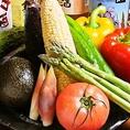 契約農家から直送の新鮮お野菜