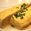 料理メニュー写真ひたひた出汁巻き玉子(無添加一番出汁)
