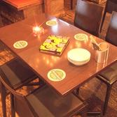 スタンダードなテーブル席♪
