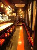 ゆったり座れるカウンター♪飲み放題には銘酒『獺祭』込み!日本酒15種以上!!本格焼酎等も含まれております!!