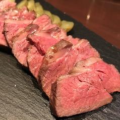 料理メニュー写真チャックリブの絶品ステーキ