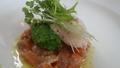 料理メニュー写真ホタテ貝のタルタル(その時のシェフスタイルで)