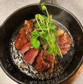 料理メニュー写真ルー(カンガルー)のステーキ