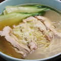 料理メニュー写真アサリ海鮮麺/むし鶏麺/