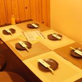 2階の完全個室☆6名様まで御利用可能な個室です☆アットホームな空間で非常に落ち着きます★今話題のヘルシー豚しゃぶ宴会は一豚におまかせ!飲み放題もあるので新年会・歓送迎会など各種飲み会にもバッチリです!