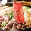 料理メニュー写真和牛すき焼き