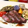 料理メニュー写真特選 黒毛和牛(赤身肉)のタリアータ